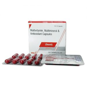 multivitamin, multimineral and antioxident capsule