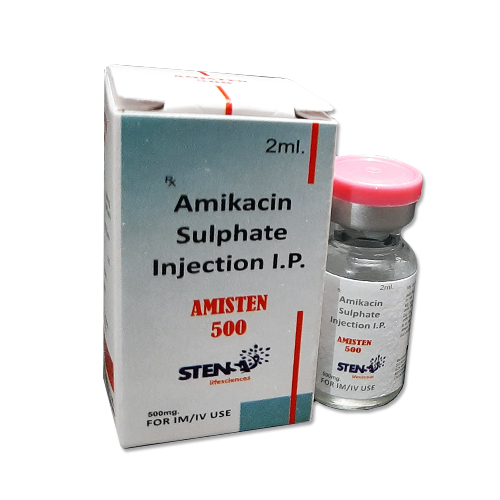 Amikacin sulphate injection I.P.