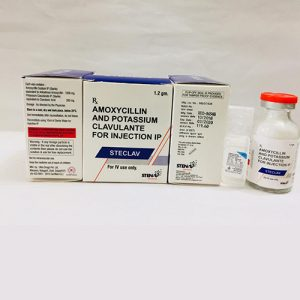 Amoxycillin And Potassium Clavulante for injection IP