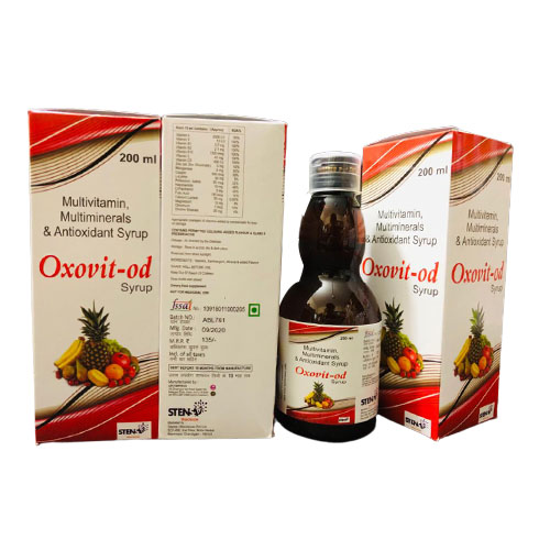 MULTIVITAMIN, MULTIMINERALS AND ANTIOXIDANT SYRUP