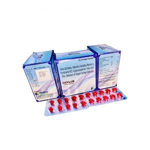 Multivitamin, multiminerals & Antioxidant Soft Gel Capsule