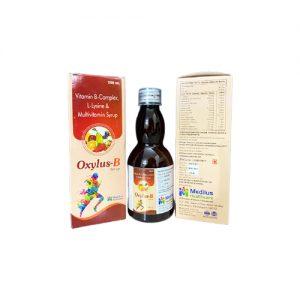 Vitamin B-Complex, L-Lysine & Multivitamin Syrup