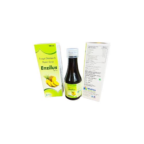 Fungal Diastase 50 Mg + Pepsin 10 Mg Syrup