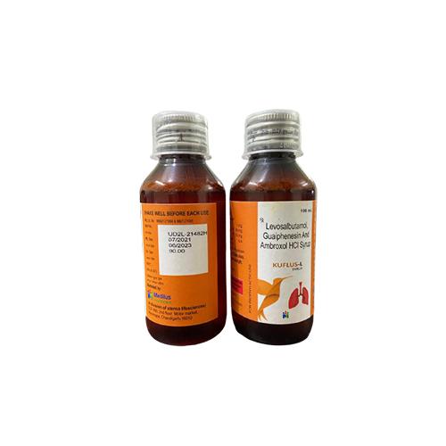 Levosalbutamol, Ambroxol & Guaiphenesin Syrup