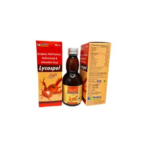 Lycopene Multivitamin, Minerals With Antioxidant Syp