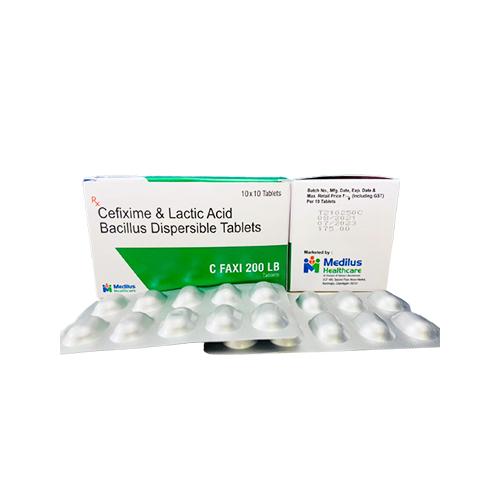 Cefixime & Lactic Acid Bacillus Dispersible Tablet