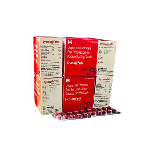 Lycopene, Betacarotene, Grapeseed Extract, Lutein, Multivitamin & Multimineral Capsule